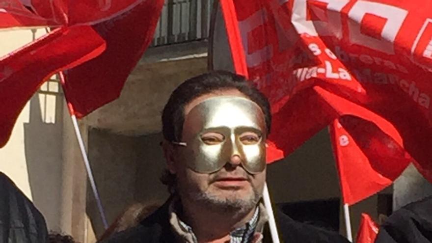 Entierro sardina manifestación huelga ciudad real