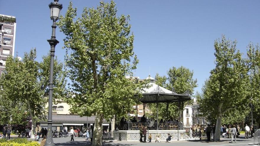Plaza San Francisco de Badajoz
