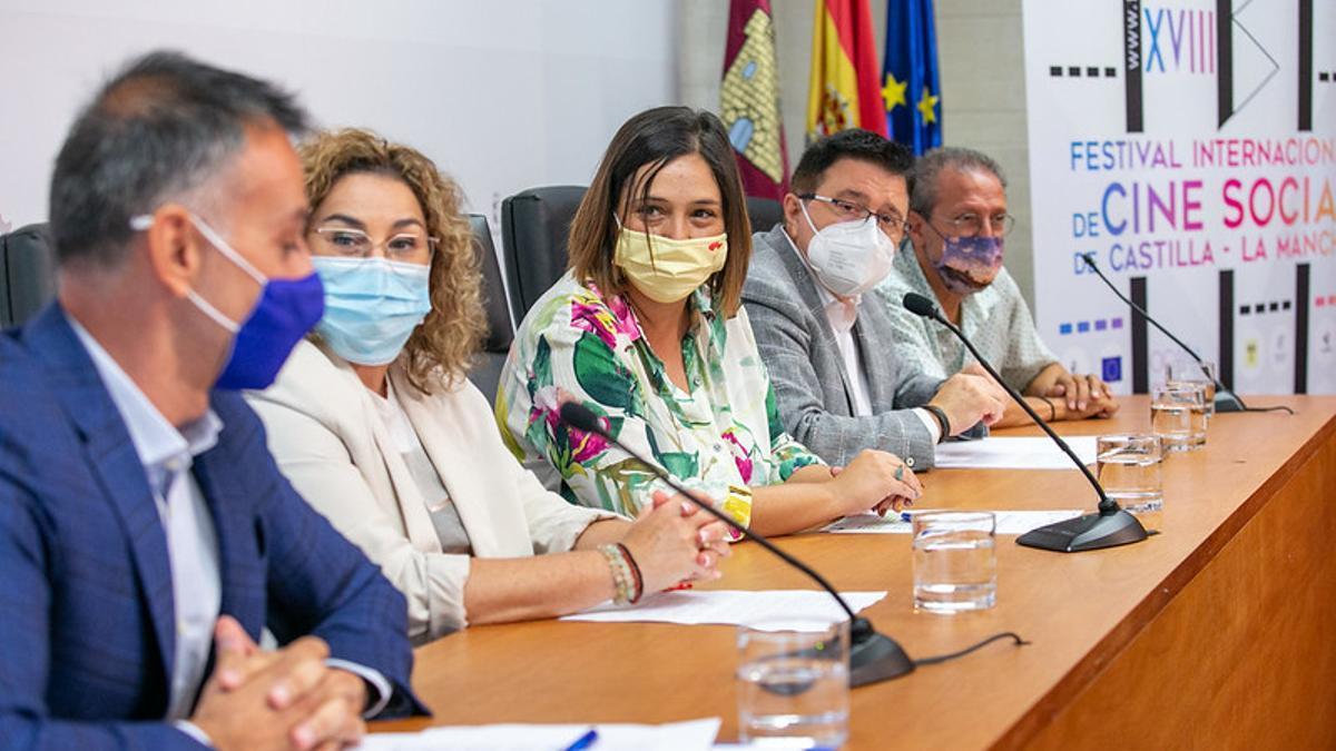Acto de presentación del Festival de Cine Social de Castilla-La Mancha 2021