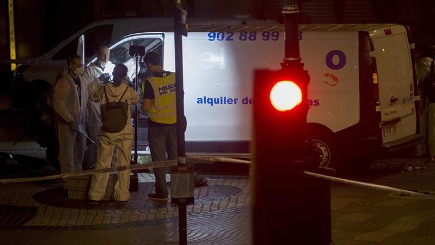 Identificado el conductor de la furgoneta que atentó en la Rambla