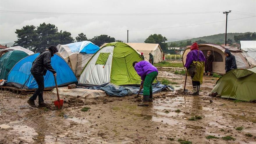 Grecia se prepara para desalojar el campo de refugiados de Idomeni