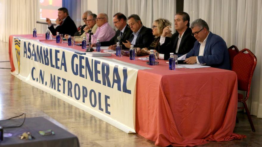 Junta Directiva del Metropole en la Asamblea General celebrada el 29 de marzo de 2017