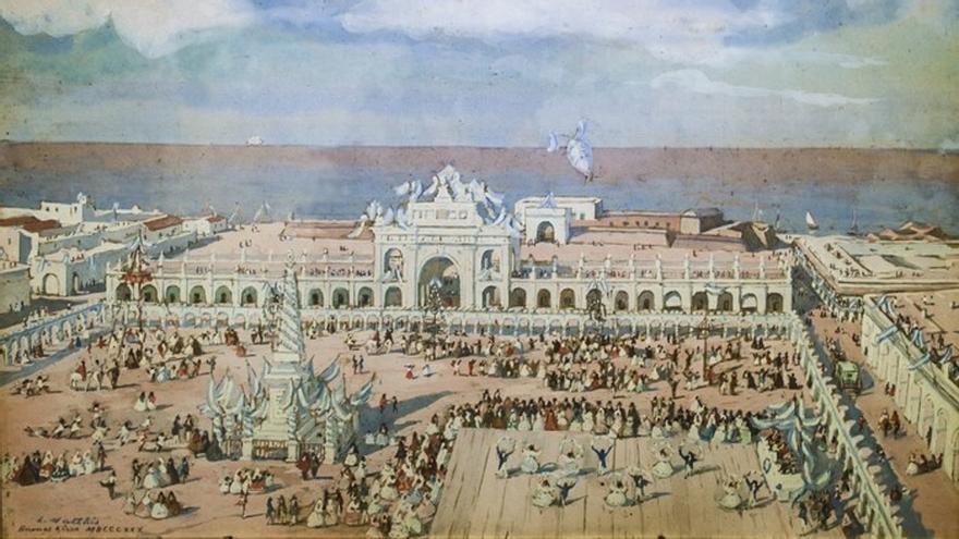 El festejo del 25 de Mayo en Buenos Aires, en 1830