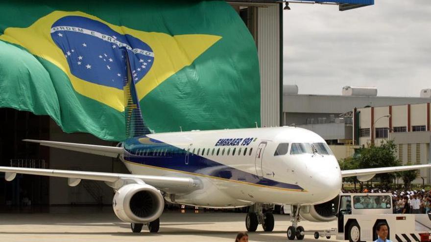 La brasileña Embraer registra pérdidas de 40,5 millones de dólares en el primer trimestre