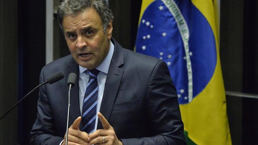 El Supremo de Brasil autoriza investigar por corrupción al líder opositor Neves