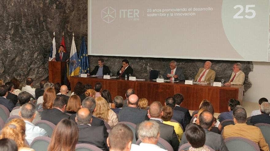 Conmemoración de los 25 años del ITER / Foto cedida