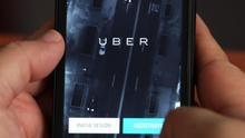 Uber en el teléfono