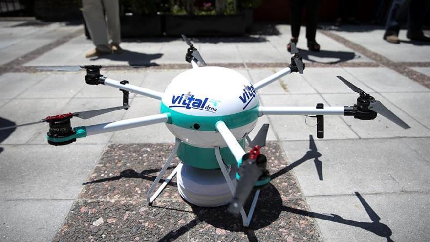 Una compañía médica argentina utiliza drones para salvar vidas