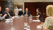 Reunión del Gobierno de Canarias con TUI.