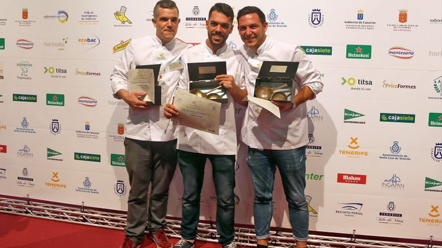 Los ganadores en el Campeonato Regional Absoluto de Cocineros de Canarias / Gastrocanarias