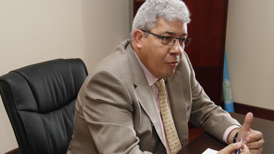 Gerardo Díaz, exgerente de Canal Gestión Lanzarote.