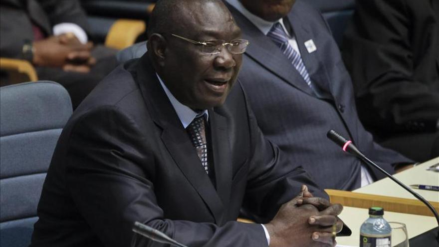 Dimite Michel Djotodia, presidente interino de la República Centroafricana