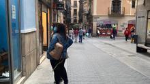 La calle del Tozal de Teruel es una de las zonas comerciales más importantes de la ciudad.
