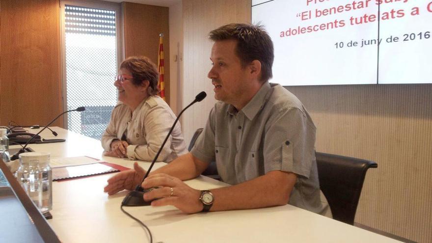Ricard Calvo, en su etapa en el Govern