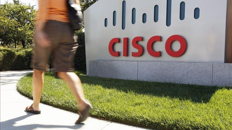 Cisco ganó en su primer trimestre 1.996 millones de dólares, el 4,06 por ciento menos