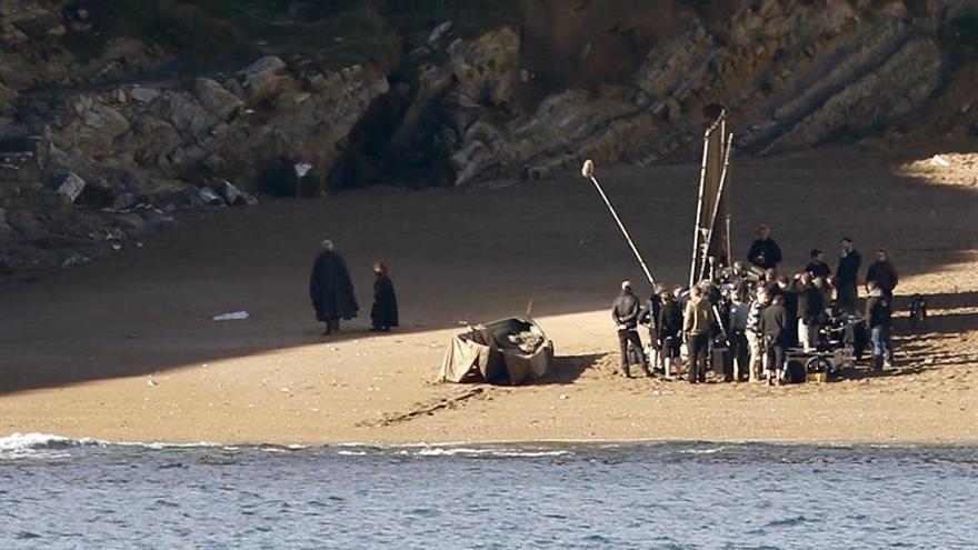 """Tyrion Lannister y Sir Davos graban ya """"Juego de Tronos"""" en Euskadi"""