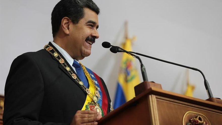 Maduro dice bloqueo económico de EE.UU. impide compra de insulina y alimentos