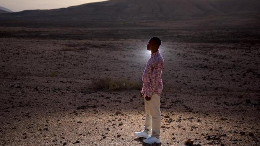Lucien, ciudadano congoleño al que el Gobierno de España le ha denegado la condición de refugiado