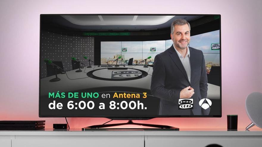 Antena 3 emitirá 'Más de uno' de Alsina en Onda Cero