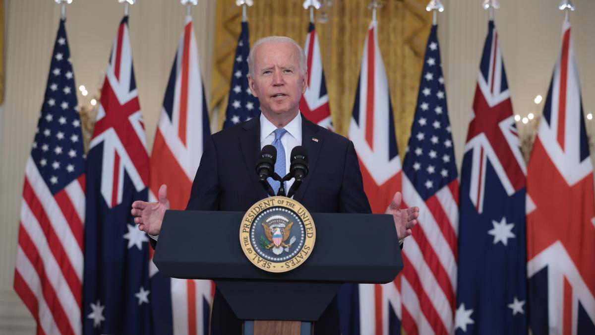 El presidente de EE.UU., Joe Biden. EFE/EPA/Oliver Contreras