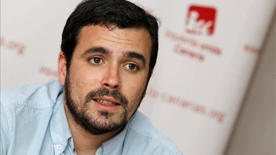 """Garzón asegura que IU no será """"absorbida ni fagocitada"""" por Podemos"""