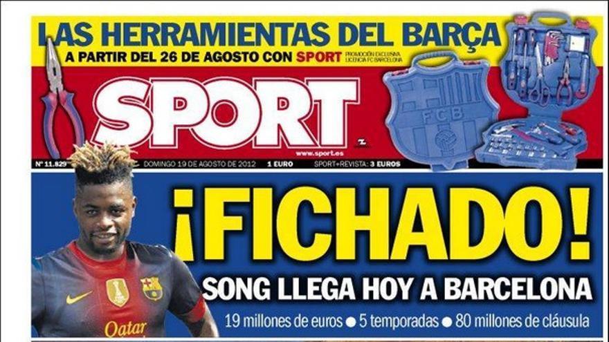 De las portadas del día (19/08/2012) #14