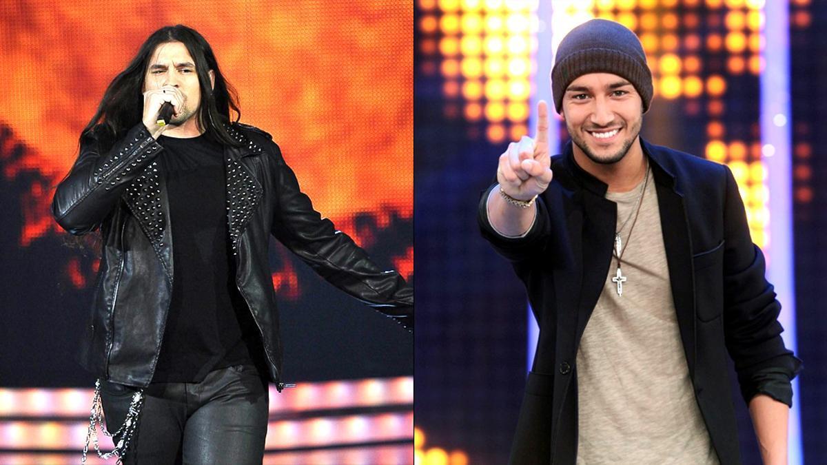Rafa Blas y Jadel, ganadores de 'La Voz' y 'El número uno'