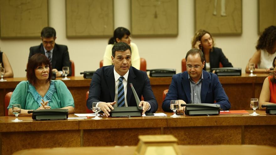Pedro Sánchez espera que Patxi López siga siendo presidente del Congreso