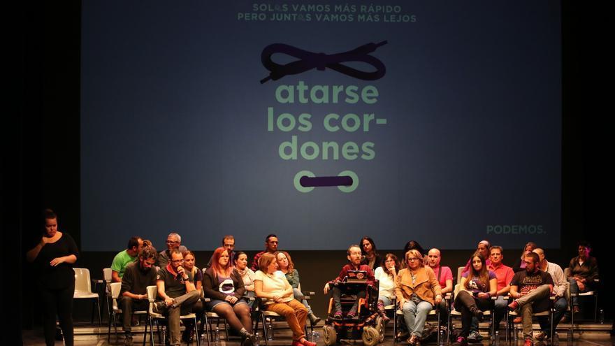 Acto de Pablo Echenique en el CICCA (ALEJANDRO RAMOS)