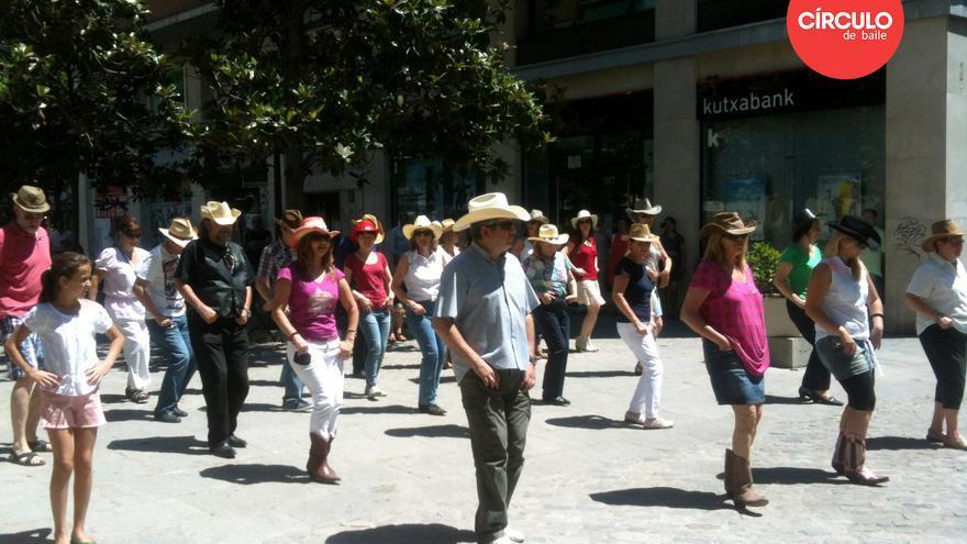 Clase abierta de Country Line Dance