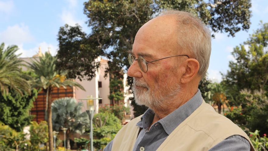 El economista y miembro histórico de la izquierda nacionalista canaria, Antonio González Viéitez.