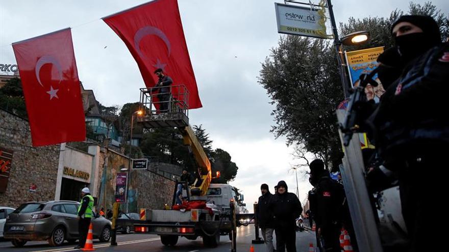 El gobierno turco confirma que conoce la identidad del atacante de Estambul