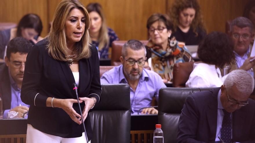 """Susana Díaz dice que junto al pacto de Estado contra la violencia """"hace falta educar"""" a los menores en """"igualdad"""""""