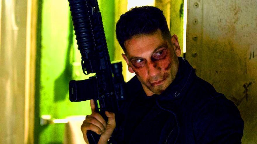 Jon Bernthal como The Punisher en Netflix