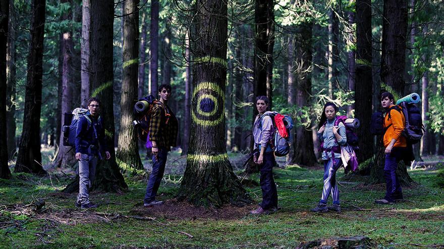 El quinteto protagonista de 'Caminantes'
