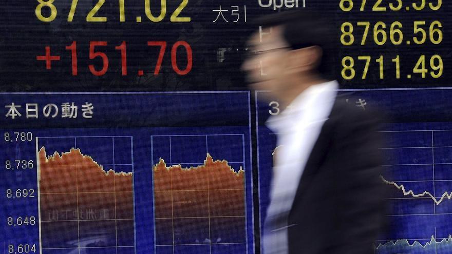 El Nikkei sube 12,44 puntos, el 0,14 %, hasta las 9.045,73 unidades