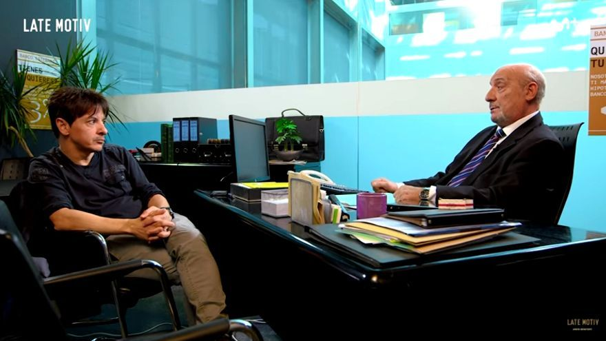 Juan Carlos Ortega, con el Dioni en Late motiv (#0)