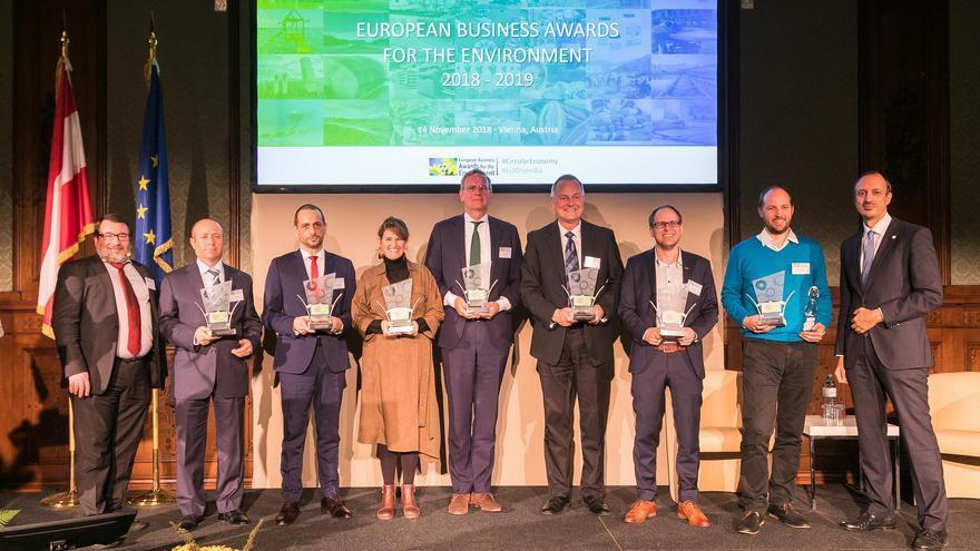 SUEZ España, ganadora de los European Business Awards for the Environment en la categoría de empresa y biodiversidad