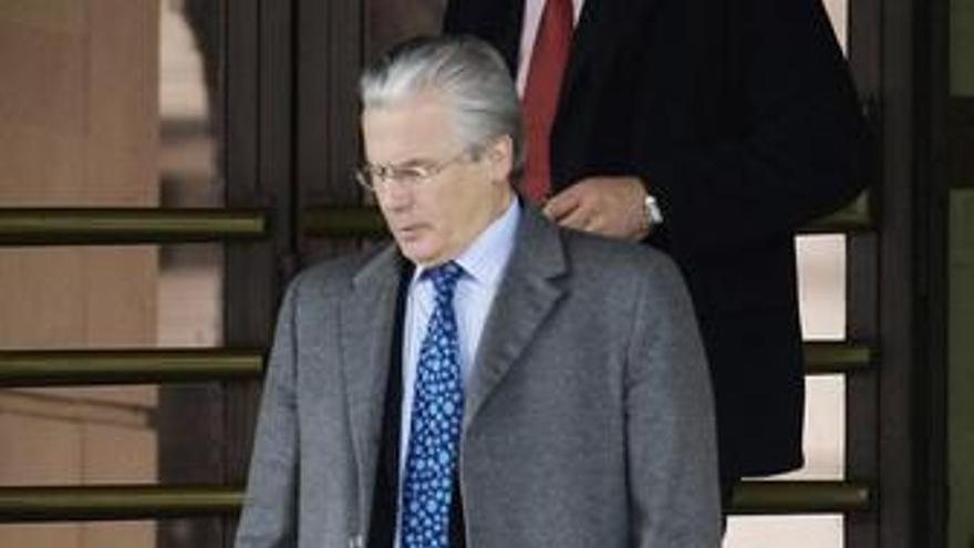 El juez de la Audiencia Nacional Baltasar Garzón