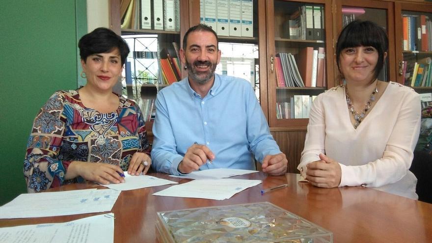 Educación y los ayuntamientos de Corella y Mendavia firman sendos convenios de convivencia en los institutos