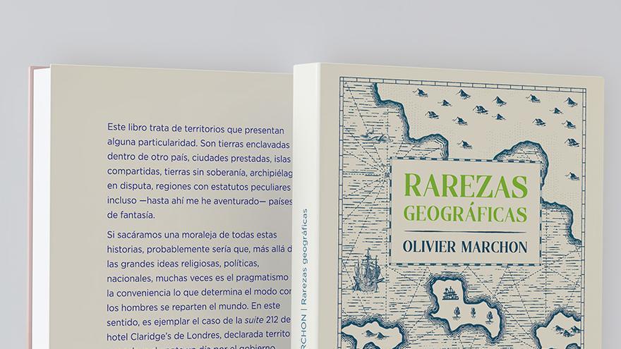 "Tapa de ""Rarezas geográficas"", de Olivier Marchon"