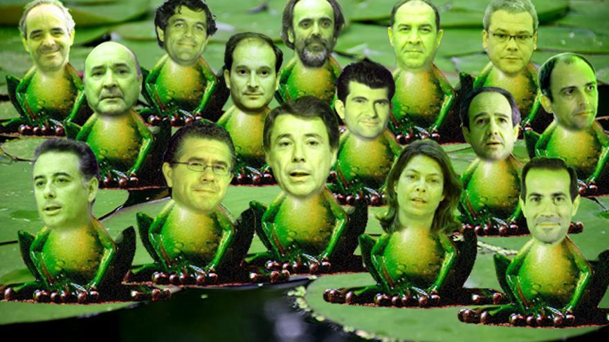 Las 'ranas' de Esperanza Aguirre.