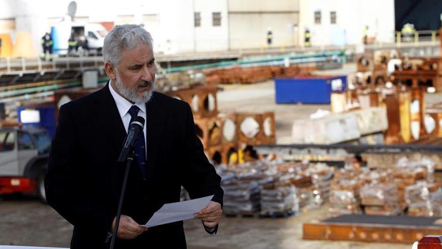 Navantia Ferrol pone la quilla a su primer buque logístico para Australia