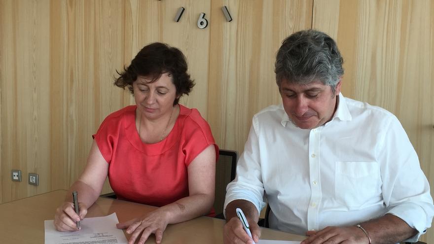 El Gobierno foral suscribe los conciertos previos de las EMOT de Arguedas y Corella