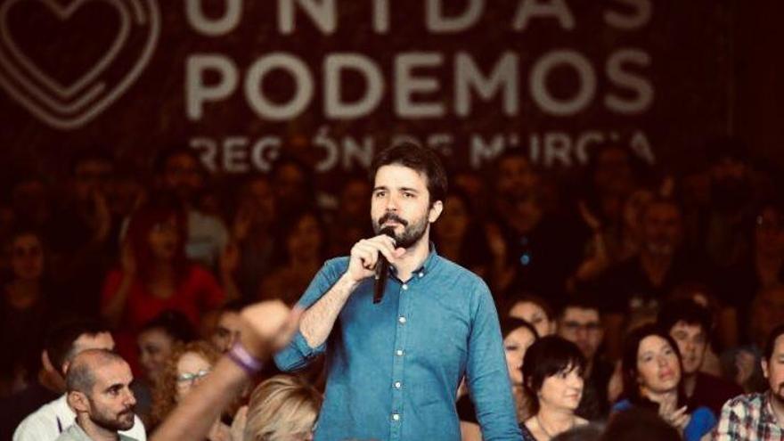 Javier Sánchez Serna, candidato al Congreso de los Diputados de Unidas Podemos en la Región de Murcia