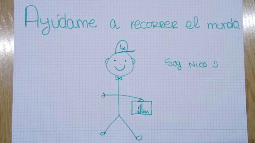 Nico, el muñeco viral para concienciar sobre el uso de las redes sociales.