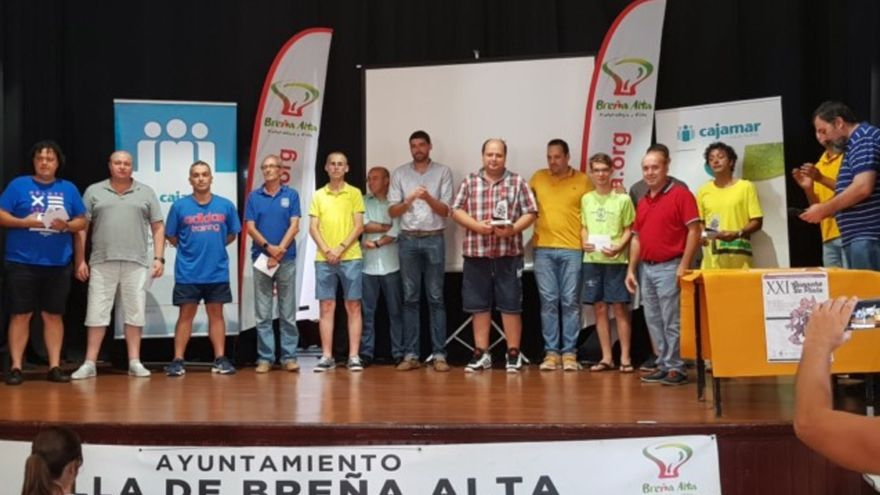 Foto de familia del torneo de ajedrez Guanche de Plata.