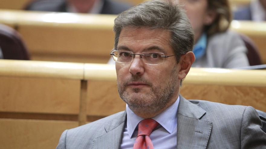 Catalá aclarará hoy en el Congreso la posición del Gobierno sobre la detención de exministros de Franco