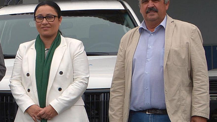 Carmen Brito y Juan Manuel González.
