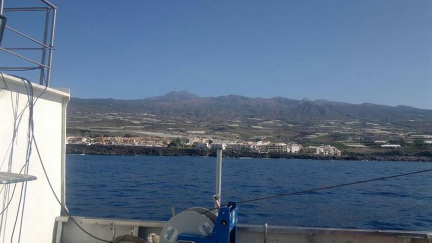 Red Eléctrica ha organizado una una visita al barco para mostrar los equipos de investigación.